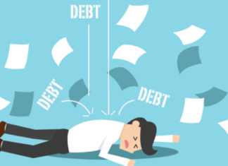 Negative impact of debt on physical and mental health